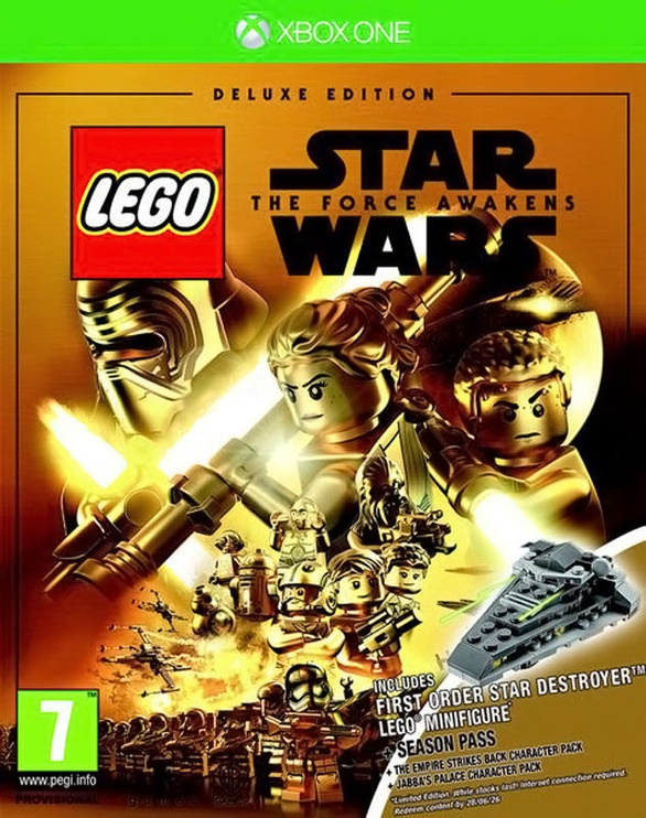LEGO Star Wars: The Force Awakens Deluxe Edition incl. First Order Star Destroyer Figure Xbox One