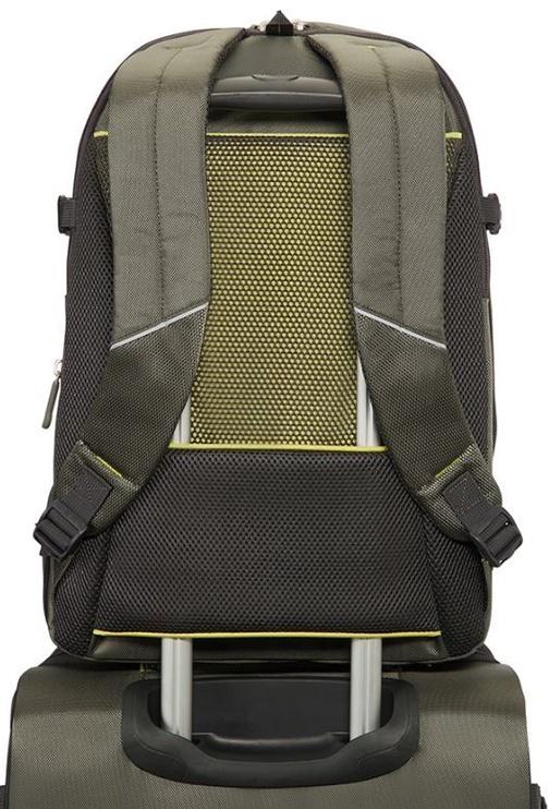 "Samsonite Notebook Backpack 4Mation For 16"" Green"