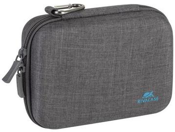 Rivacase Canvas Action Camera Case Grey
