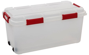 Curver Outback Box With Lid 80l Transparent/Red