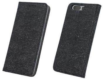 Forever Glitter Shine Book Case For Samsung Galaxy S8 Plus Black