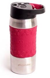 Kamille Vacuum Mug 380ml Red KM2063