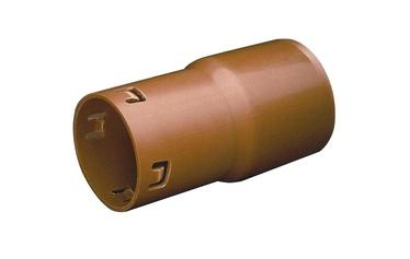 Wavin Drain Connector Pipe Brown 110/80mm