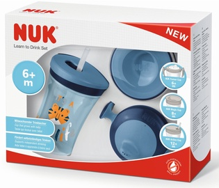 Nuk Learn To Drink Set Blue 10255396