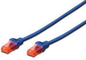 Digitus Premium CAT 6 UTP Patch Cable Blue 3m