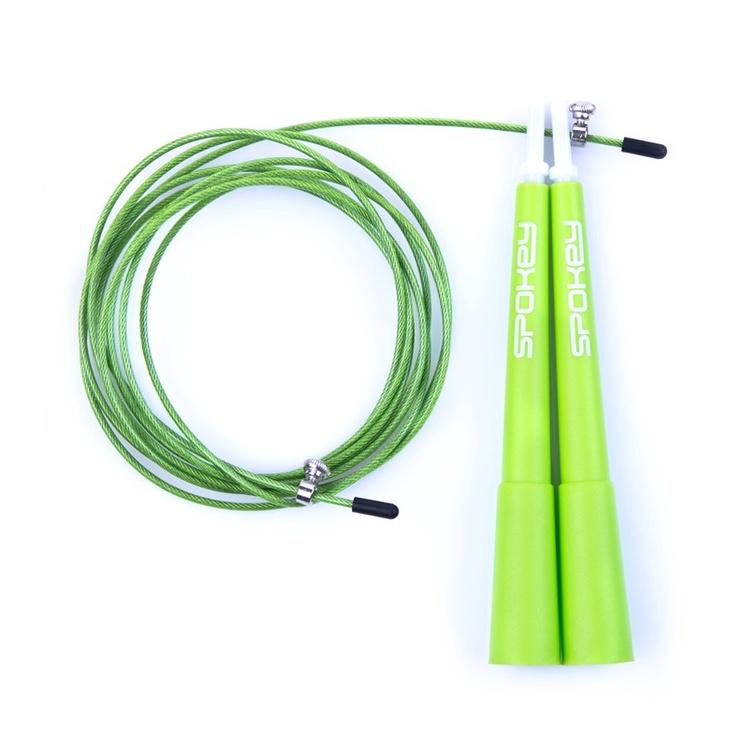 Spokey Crossfit II Skipping Rope Green