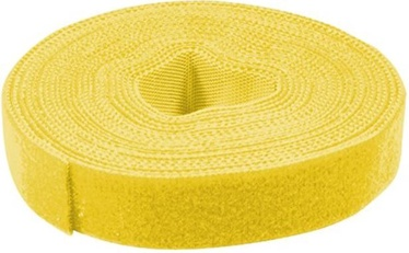 LogiLink Cable Management Velcro 4m x 16mm Yellow