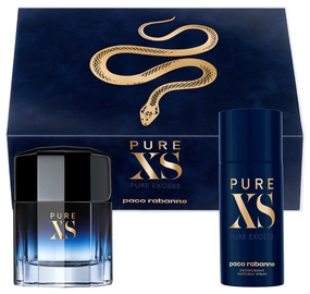 Paco Rabanne Pure XS 100ml EDT + 150ml Deodorant Spray