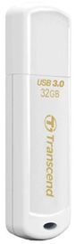 USB флеш-накопитель Transcend JetFlash 730 White, USB 3.0, 32 GB