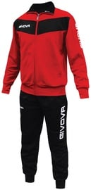Givova Visa Red Black XL