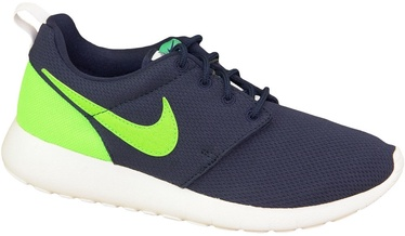 Nike Running Shoes Roshe One Gs 599728-413 Blue 38.5