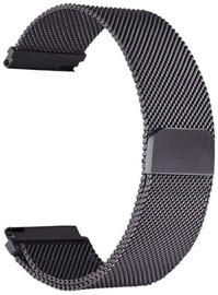 Tellur Milanese Loop Watch Strap for Samsung Watch 42mm-20mm Black