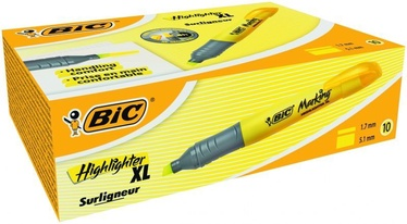 BIC Brite Liner XL Text Marker Yellow 10pcs 891396