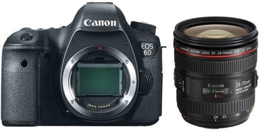 Canon EOS 6D 24-70mm f/4 L IS USM