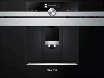 Siemens iQ700 CTL636LES6 Black/Stainless Steel