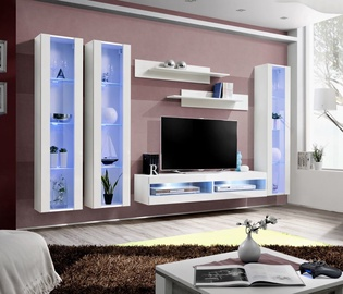 ASM Fly P7 Living Room Wall Unit Set White