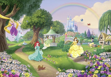 Sunny Decor Princess Rainbow SD449 Photo Wallpaper