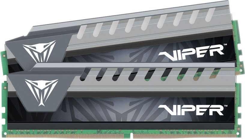Patriot Viper Elite Grey 16GB 2666MHz CL16 DDR4 KIT OF 2 PVE416G266C6KGY