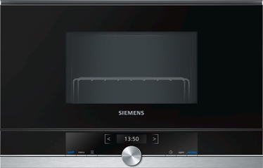 Siemens iQ700 Built-In Microwave BE634LGS1 Black/Inox
