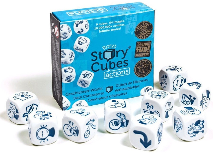 Brain Games Rory's Story Cubes Actions