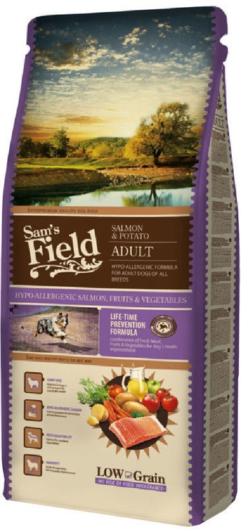 Sam's Field Adult Salmon and Potato 13+2kg