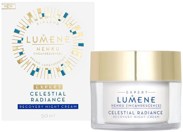 Lumene Hehku Celestial Radiance Recovery Night Cream 50ml