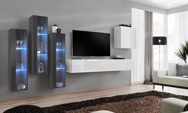 ASM Switch XIII Wall Unit White/Graphite