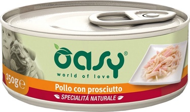 Oasy Wet Adult Chicken with Ham in Jelly 150g