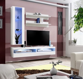 ASM Fly S8 Living Room Wall Unit Set White