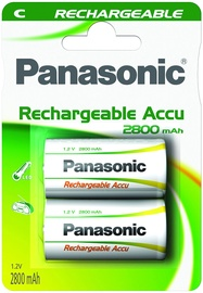 Panasonic NiMh P14P rechargeable battery 1 x C 2800mAh