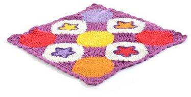 Lisa SmallStuff Knitted Doll Blanket Syren