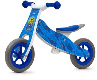 Tasakaaluratas Milly Mally Look Ride On 2in1 Blue