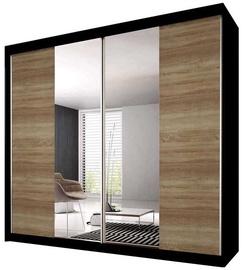 Idzczak Meble Wardrobe Multi 36 183 Black/Sonoma Oak