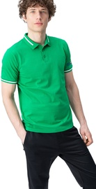 Audimas Cotton Polo Shirt Jolly Greeen L