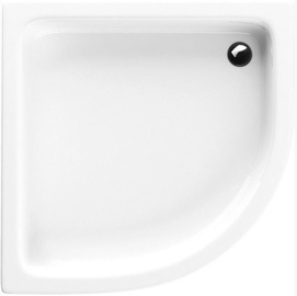 Schaedler Standard M Shower Tray 80x12/26x80 White