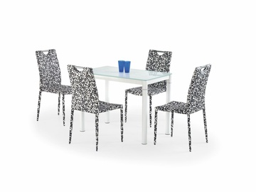 Обеденный стол Halmar Argus, белый, 1000x600x750мм