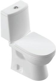 WC-pott SANITA Lux Next Duroplast Soft Close White, 345x630 mm