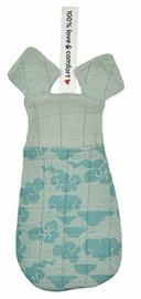 Pesukäsn Lodger Baby Washcloth And Pacifier Blanket Silt Green