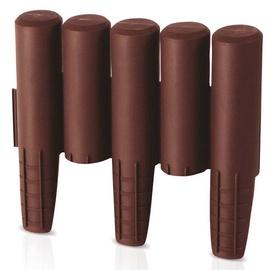 Prosperplast Palisada IPAL5 Brown 10pcs