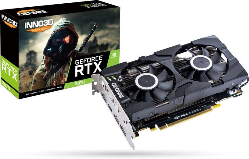 Inno3D GeForce RTX 2070 Twin X2 8GB GDDR6 PCIE N20702-08D6-1710VA23