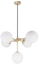 Candellux Mati Hanging Ceiling Lamp 5X28W G9 Brass