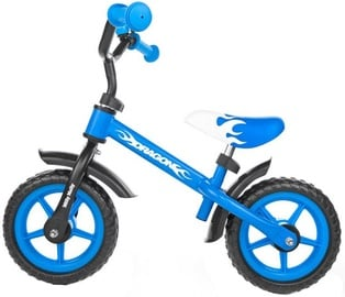 Lastejalgratas Milly Mally DRAGON Balance Bike Blue 4799