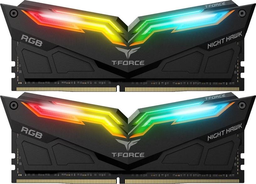 Team Group T-Force Nighthawk RGB Black 16GB 3000MHz DDR4 CL16 KIT OF 2 TF1D416G3000HC16CDC01