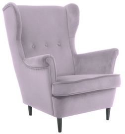 Tugitool Signal Meble Lord Velvet Pink, 72x85x101 cm