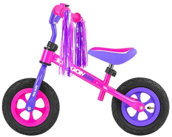 Lastejalgratas Milly Mally Dragon Air Balance Bike Pink Purple 1634