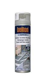 Teede aerosoolvärv Belton, valge, 500 ml
