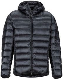 Marmot Mens Hype Down Hoody Black L