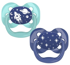 Dr Browns Advantage Soothers 2pcs 0-6 PA12002