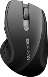 Canyon Wireless Mouse w/Blue LED Sensor Black CNS-CMSW01B