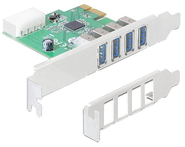 Delock PCI Express Card 4 x External USB 3.0